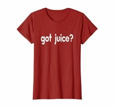New Shirts - Got Juice Funny Sayings Hilarious Orange Carrot T-shirt Wowen - $19.95