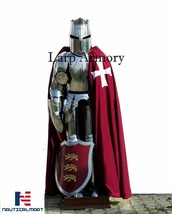 X-Mas Templar Wearable Medieval Knight Combat Armor Full Suit Of Armor - $999.00