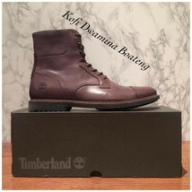 """Timberland Mens Lafayette Park 6"""" Brown Leather FULL GRAIN Boots A1QDR. ... - $102.85"""