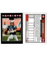 TOM BRADY 2008 Topps #1 From Team Set New England Patriots - Mint - $4.90