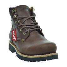 Levis Compass Leather Men's Boots Brown 516992-01b - $99.95