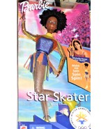 Barbie Doll  - Star Skater (AA)  1997 - Olympic Winter Games 2002 Michel... - $29.95