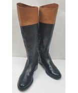 Lauren by Ralph Lauren RLL Jenessa Women's Brown/Black Polo Riding Boots... - $152.83
