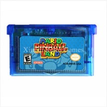 Mario Pillball Land GBA Video Game Cartridge Card 32bit Handheld Console... - $9.99