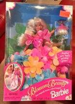 1996 Mattel Blossom Beauty Barbie / with box and accessories never opened rw50 - $19.34