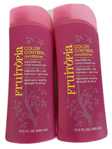 Lot of 2 Fruitopia Color Control Daily Conditioner 13.5 Oz Vitamins B3 B6  - $19.79