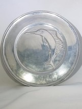 "Vari Disenos Mexico Pewter Fish Serving Plate Approx 12 1/4"" - $38.11"