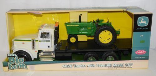 John Deere TBEK46212 Big Farm 4020 Tractor Peterbilt Model 367