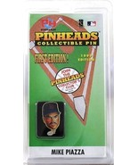 Mike Piazza Pinheads Collectible Pin 1999 First Edition in Original Package - $3.50