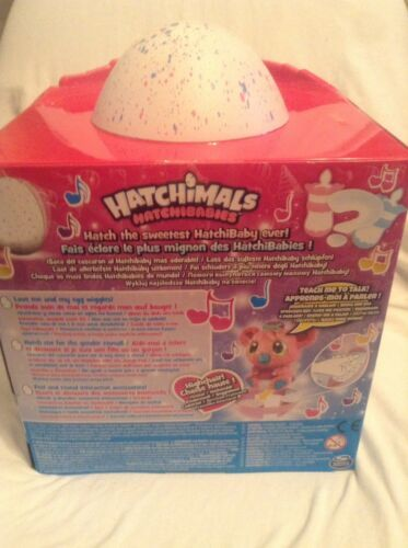 Easter Hatchimals Hatchibabies Koalabee New factory sealed 1 set egg