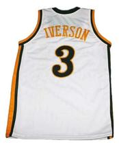 Allen Iverson Bethel High School Basketball Jersey Sewn White Any Size image 2
