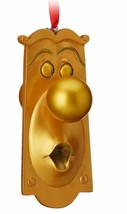 Doorknob (Two Faces)  Alice In Wonderland  Sketchbook  Ornament - $15.83