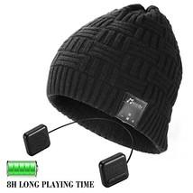 Bluetooth Beanie Hat,Topple Wireless 4.0 Superior Headphone Beanie Hat H... - $35.74