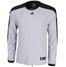 adidas Men's Team Speed Shooting Shirt (X-Small, Grey/Black) - $53.12 CAD