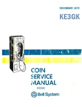 Bell System Coin Service Manual * PDF * CDROM * Telephone Repair - $7.99
