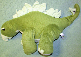 "25"" TRICERATOPS STUFFED DINOSAUR Animal Adventure 2010 Plush Animal GREE... - $22.44"