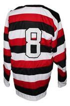 Custom Name # Providence Reds Retro 1930 Hockey Jersey New Sewn Any Size image 2