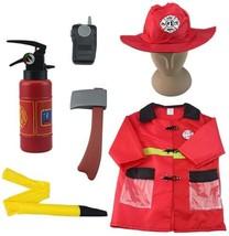 iPlay, iLearn Fire Chief Role Play Costume Set, Halloween Costume(3-6 Ye... - $24.17