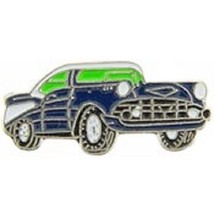 Chevy 1957 Blue Car Pin Pinback - $7.91
