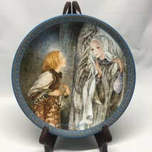 Sulamith Wulfing Die Vision 1983 Love Song Series Plate Konigszelt Bayern - $24.99
