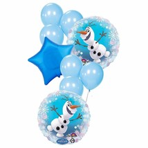 Disney Frozen Olaf Balloon Bouquet Package Birthday Party Supplies New - $7.87