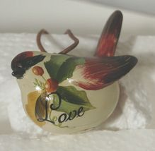 Painted Bird 37300 Joy Hope Love 3 Set Christmas Ornaments image 6