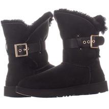 UGG Australia 13664 Pull On Mid Calf Boots, Black, 5 US - $71.99