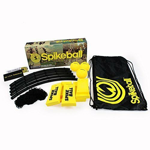 Spikeball 3 Ball Set: Indoor Backyard Beach Camping Game