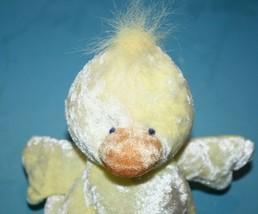 "Russ Berrie Cheeks Easter Chick Duck 8"" Yellow Orange Plush Bean Bag Soft Toy - $19.24"
