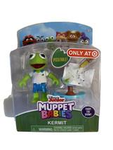 Muppet Babies KERMIT WITH BANJO Poseable Figure *NEW In Box Disney Jr - $5.95