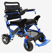 The Geo Cruiser DX Lightweight Foldable Power Chair (Blue) with FREE ACC... - $2,074.05