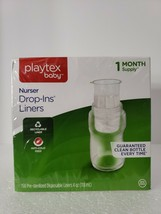 Playtex Baby Bottle Nurser Drop-Ins Replacements  4 oz Baby Bottle Liner... - $16.44