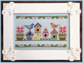 Spring Birds cross stitch chart Country Cottage Needleworks - $7.20