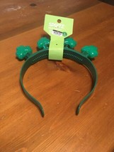 Light Up St. Patrick's Day Shamrock Green Headband Clover Head Band