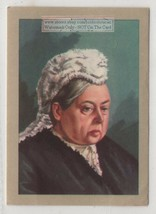 Queen Victoria England  Great Britain Monarch India  Vintage Trade Ad Card - $4.49