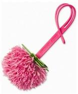 MICHAEL KORS NWT Novelty Grapefruit Pom Pom Purse-Charm Ultra Pink Leather - $22.67
