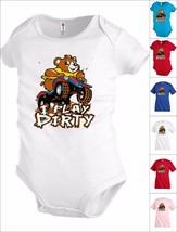 I play dirty bear bike Funny Kids T shirt Youth tee Baby Toddler bodysui... - $12.99