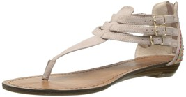 Madden Girl Women's Tirin Dress Sandal Blush Fabric Size 8.5 - $49.50