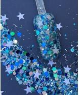 Glitter Mix Acrylic Gel Nail Art MICHELLE please take time to read descr... - $6.88