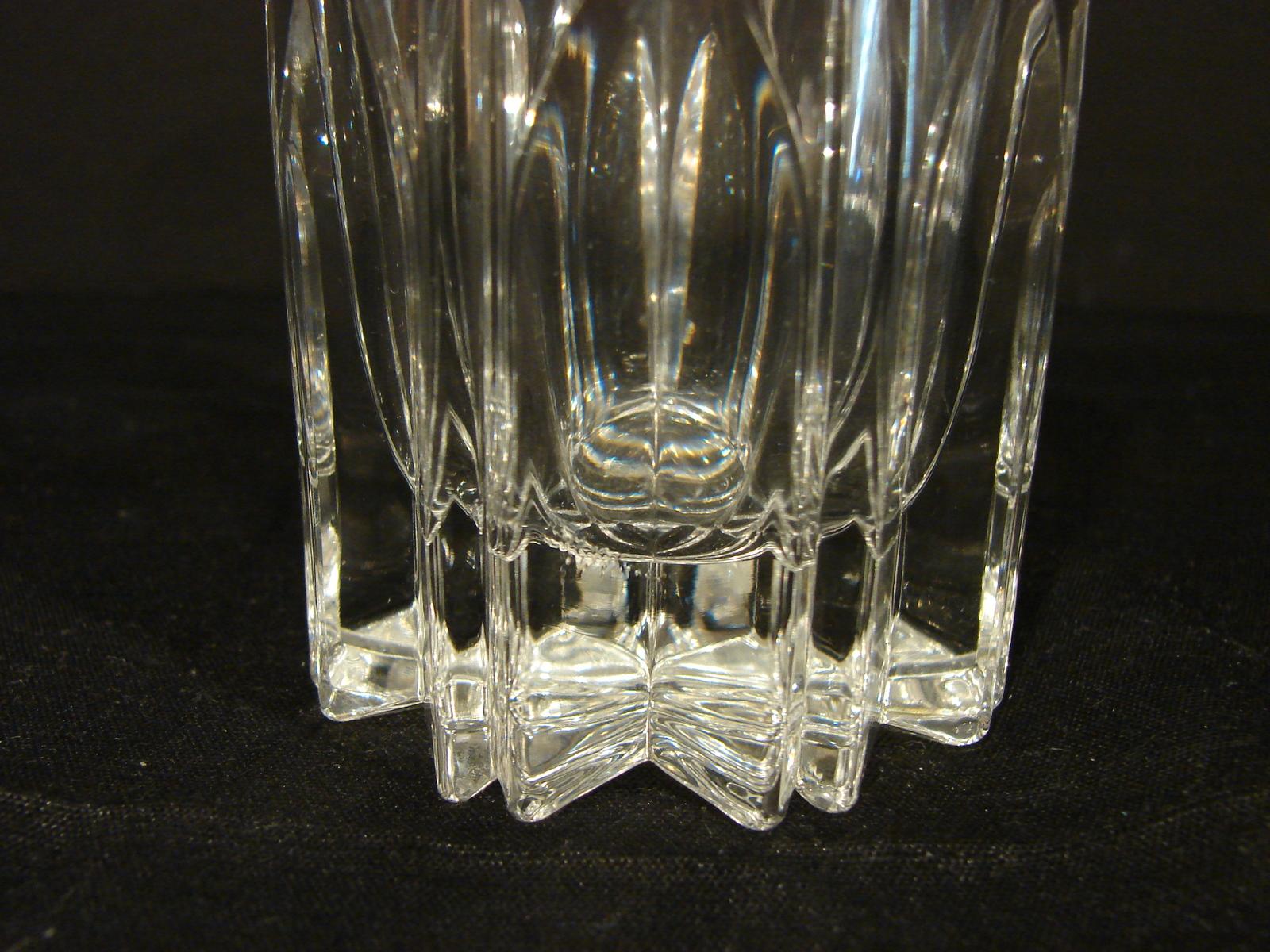Set of 4  Mikasa BERKELEY Crystal  Highball Glasses Made in Germany