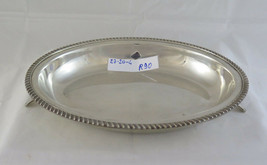 Antique plate For Capacity Centerpieces IN Silverplate Made IN England 1... - $197.85