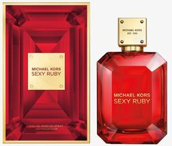Sexy Ruby Michael Kors 100ML 3.4 Oz Edp Women New Sealed Box. - $64.99