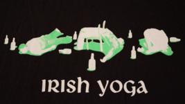 Irish Yoga, Mint Condition, Large Mens T-Shirt - $8.95