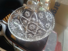 "Star of David EAPC 10 1/2"" SERVING BOWL Anchor Hocking - $11.77"