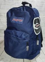 Jansport Superbreak Backpack Navy Blue 25L  New With Tag - $27.08
