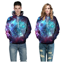 3d Print Sweatshirts Hooded Men/Women Hoodies With Hat Galaxy Space Star... - $59.99