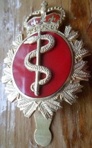 Quecec, Canada. Canadian Army Rcamc Medical Corps. Large Enameled Clip Pin 1984 - $20.00