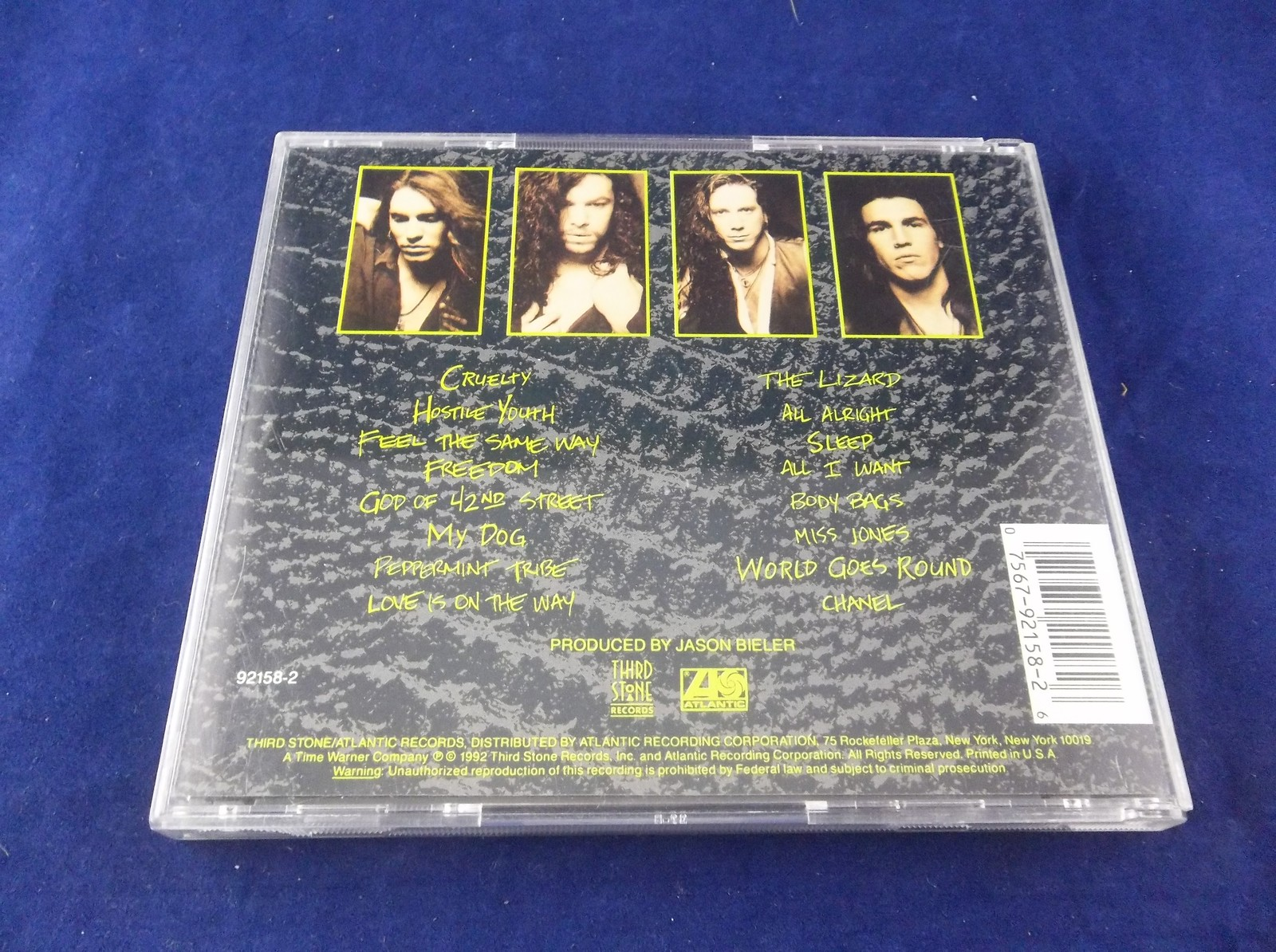 Saigon Kick: The Lizard Hard Rock 1992 Atlantic CD