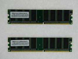 2GB (2X1GB) COMPAT TO PMA-DDR400/2048MB/KT SNPJ0203C/1G