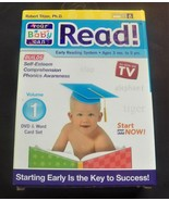 Your Baby Can Read Vol. 1 DVD & Word Card Set 2001 #educational #teaching - $6.99